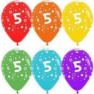 Цифра 5 (звезды) 30 см