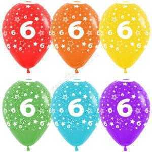 Цифра 6 (звезды) 30 см