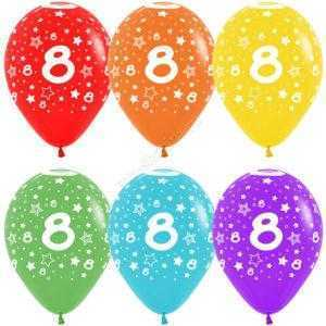 Цифра 8 (звезды) 30 см