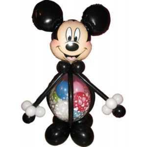 Микки Маус из шаров